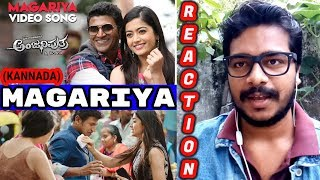 Magariya Song Reaction Anjaniputhraa Puneeth Rajkumar Rashmika Mandanna A Harsha Oyepk