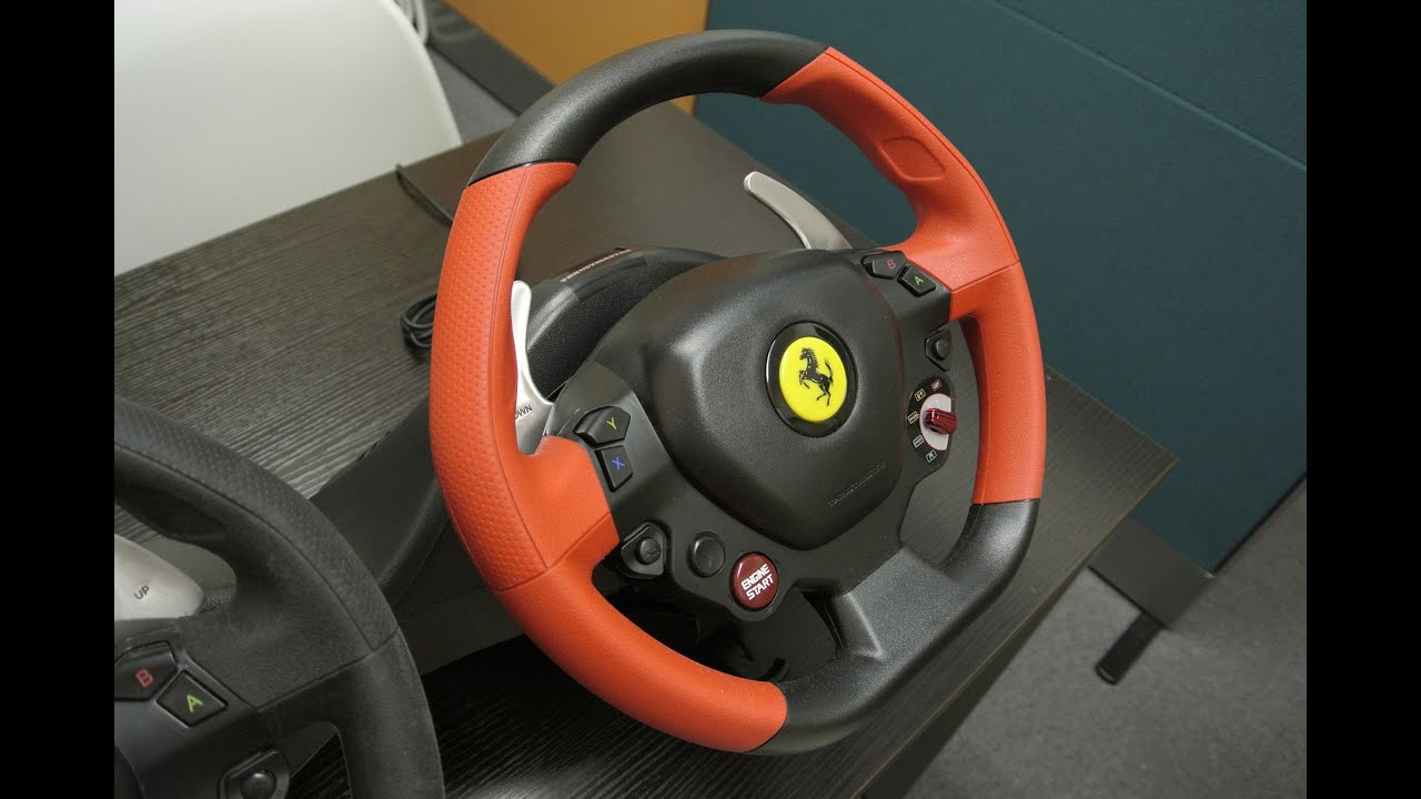02 xboxone fh2 thrustmaster ferrari 458 spider racing. Black Bedroom Furniture Sets. Home Design Ideas