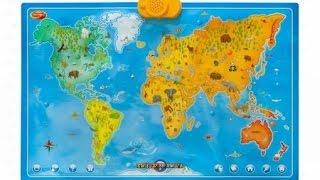 Interaktywna Mapa Zwierzęta Świata - Dumel Discovery - recenzja
