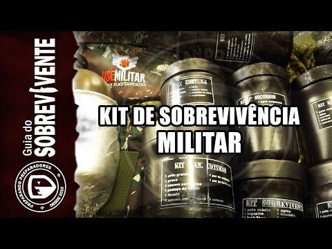 Kit Sobrevivência Militar - Vale a pena comprar kit pré montado?