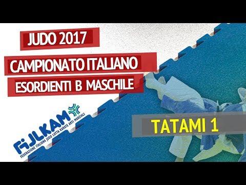 Campionato Italiano Esordienti B Maschile di Judo 2017 - TATAMI 1