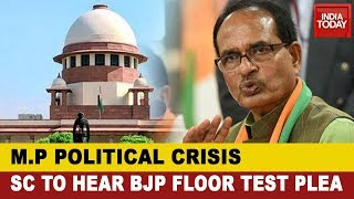 M.P Political Crisis: Supreme Court To Hear Plea On Floor Test Today