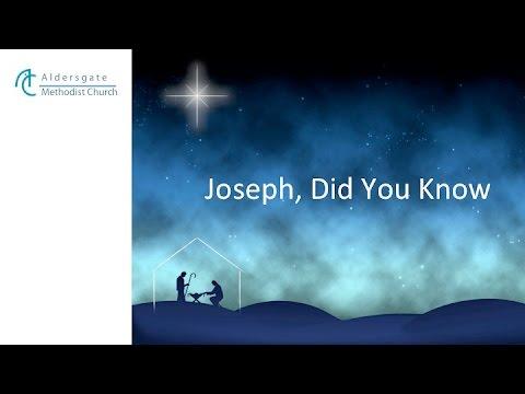 Joseph, Did You Know