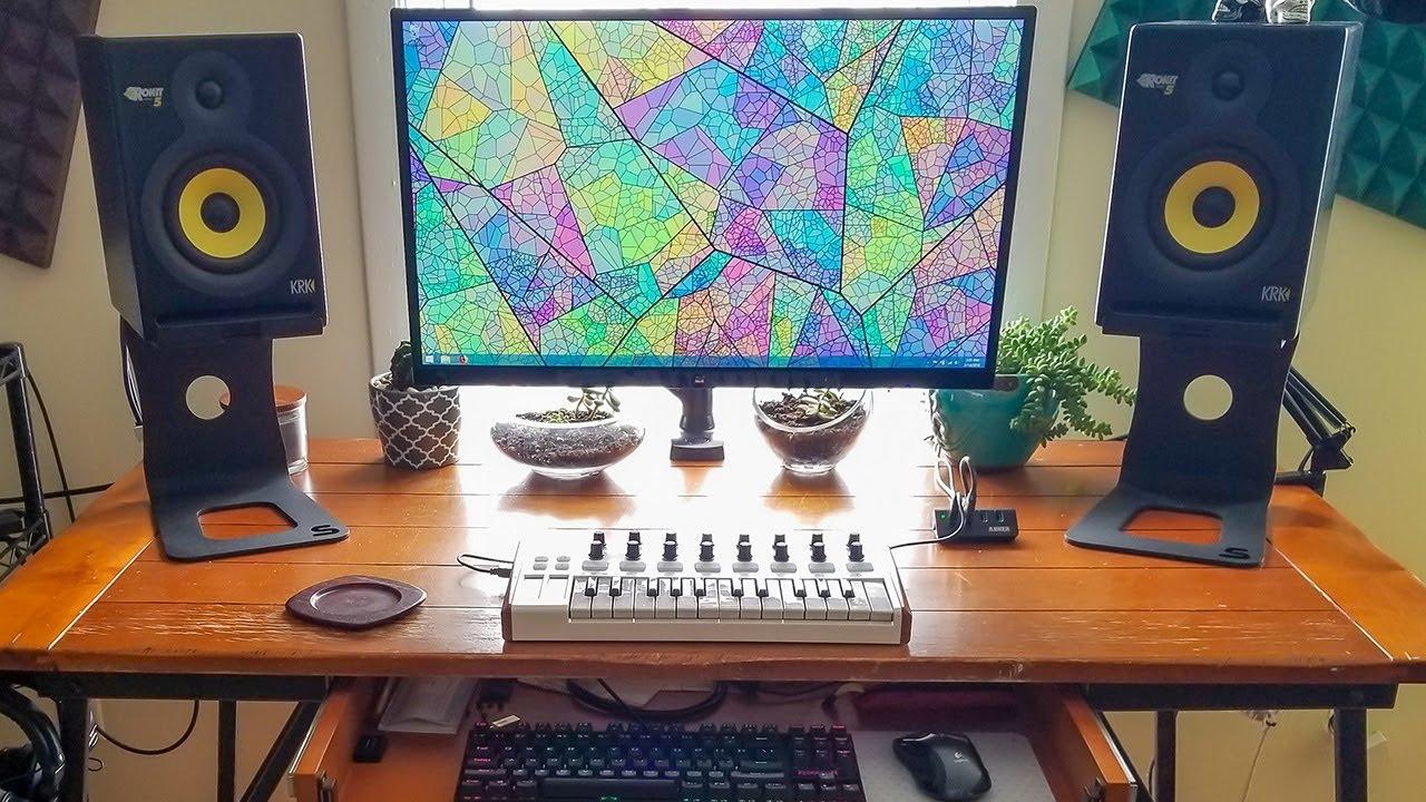 Soundrise Pro Desktop Speaker Stands Youtube