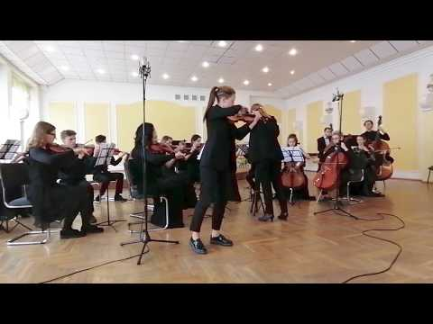 """П.Сарасате - """"Цыганские напевы"""", Филатова Александра(скрипка)"""