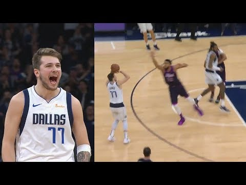 Luka Doncic Shocks Timberwolves Crowd With Clutch Shot After Taking Over In Duel With Derrick Rose!