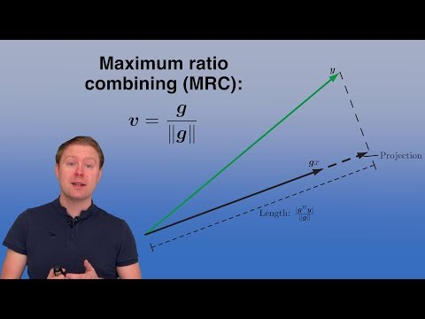Capacity Of Point-to-point SIMO And MISO Channels [Video 5]