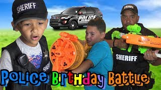 COPS OFF DUTY! SHERIFF'S HOME! Revenge at BIRTHDAY BATTLE!