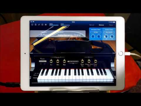 The Most Excellent KORG Module Quick Play Demo for the iPad