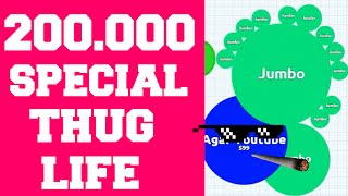 Agar.io 200.000 Special BONUS THUG LIFE!