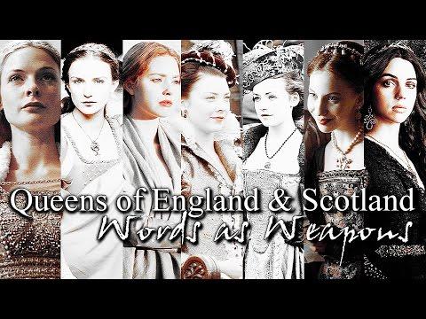 Queens of England & Scotland || York, Tudor & Stuart || Words as Weapons