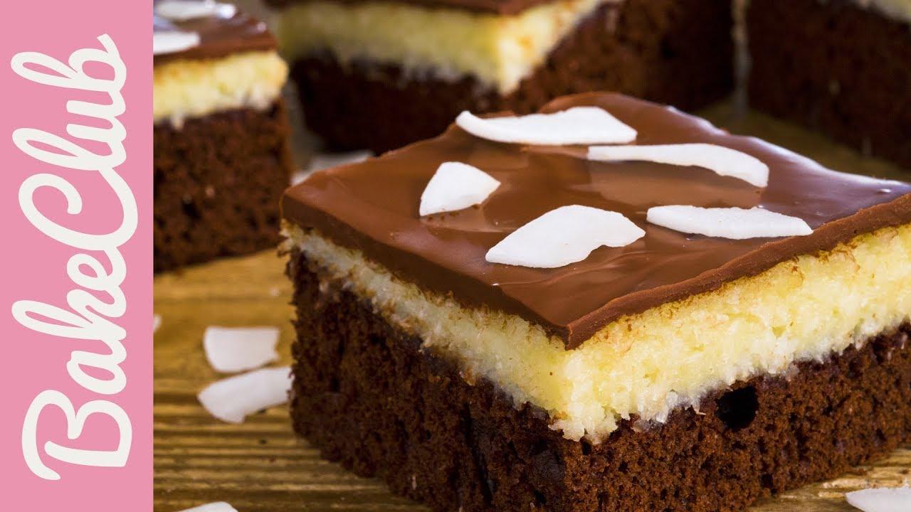 Bounty Kuchen Schoko Kokosnuss Kuchen Bakeclub Youtube