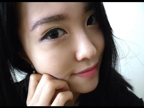Easy Korean Eyebrows Tutorial 자연 눈썹 노하우