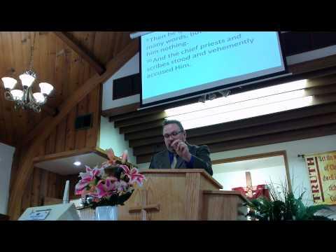 """""""Jesus Before Herod: False Joy, Accusation, and Mocking"""""""