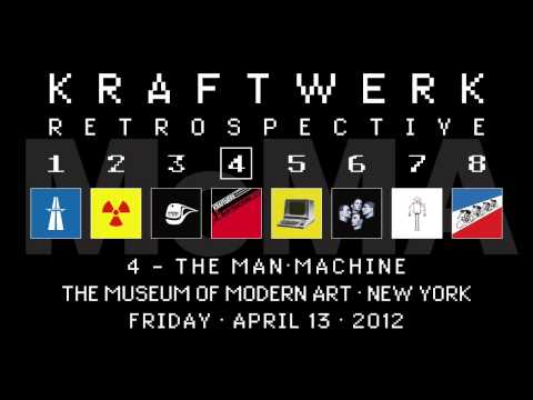 Kraftwerk - Retrospective 4 - The Museum of Modern Art, New York, 2012-04-13