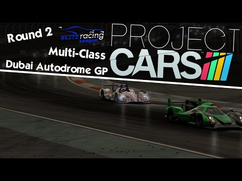 XRL Project CARS - Multi-Class Round 2 - Dubai Autodrome GP