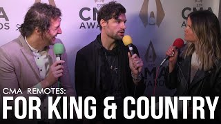 For King And Country Can't Believe All The Work They're Doing With Dolly Parton