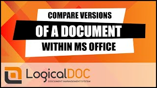 Compare versions of a document within Microsoft Office