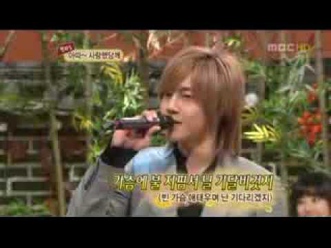 [DL] SS501 YoungSaeng & HyunJoong singing