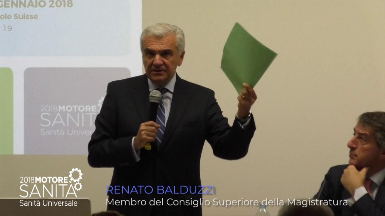 Renato balduzzi membro del consiglio superiore della for Consiglio superiore della magistratura