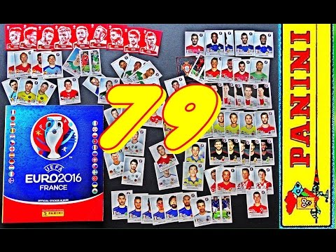 PANINI Coca Cola UEFA EURO 2016 OFFICIAL FRANCE 79 Mega new EM STICKER Frankreich ALBUM 3 No3 ⚽