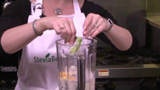Stevia Recipes: Blueberry Mango Smoothie