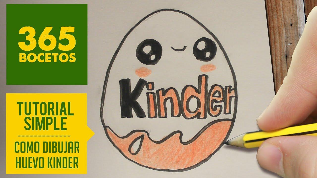 Como Dibujar Huevo Kinder Kawaii Paso A Paso Dibujos Kawaii Faciles How To Draw A Kinder
