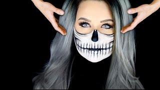 Half Skull Makeup Tutorial | FLOATING HEAD!!