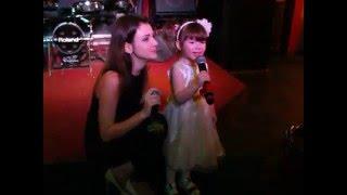 В день рождения  поздравление от маленькой дочки  Лизы 21.03.16