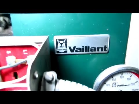 BECKET OIL BURNER:vaillant oil fired boiler cleaning ( rear bird )