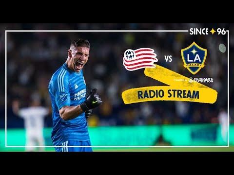 LA Galaxy vs New England Revolution | Radio Live Stream