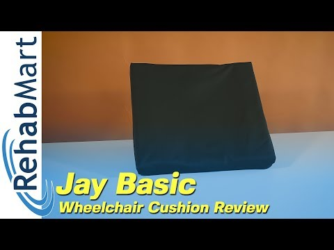Review - Jay Basic Wheelchair Cushion By Sunrise Medical
