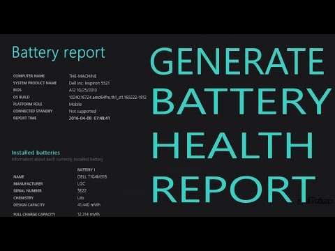 How to Check your Laptop Computer Battery Life !