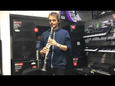 Mariah Carey - My all (instrumental cover - clarinet)
