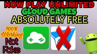 😲unlimited time PLAY GLOUD GAMES absolutely free💀