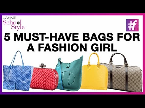 ed99008878f478 Top 5 Must Have Designer Bags for Women | #fame School Of Style - YouTube