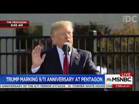 Trump Sends Stern Warning to Terrorists on 9/11 Anniversary
