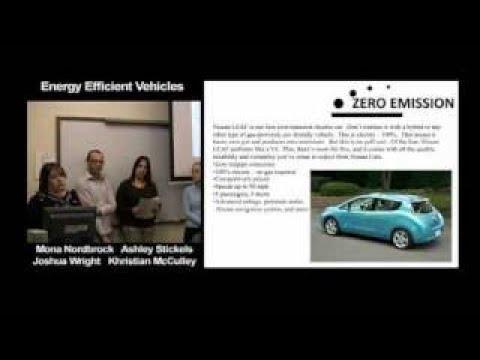 Energy Efficient Vehicles