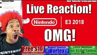 Nintendo E3 Direct Presentation Live Reaction