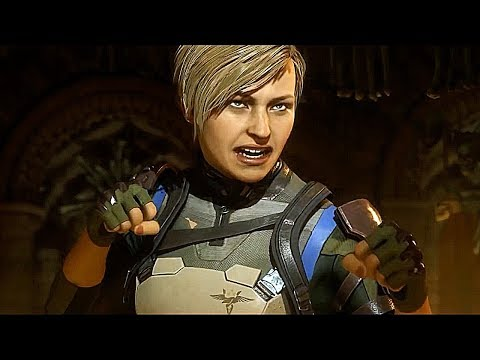 MORTAL KOMBAT 11 Story Mode All Cutscenes Cassie Cage, Kitana, Kung Lao And FINAL BOSS REVEAL thumbnail