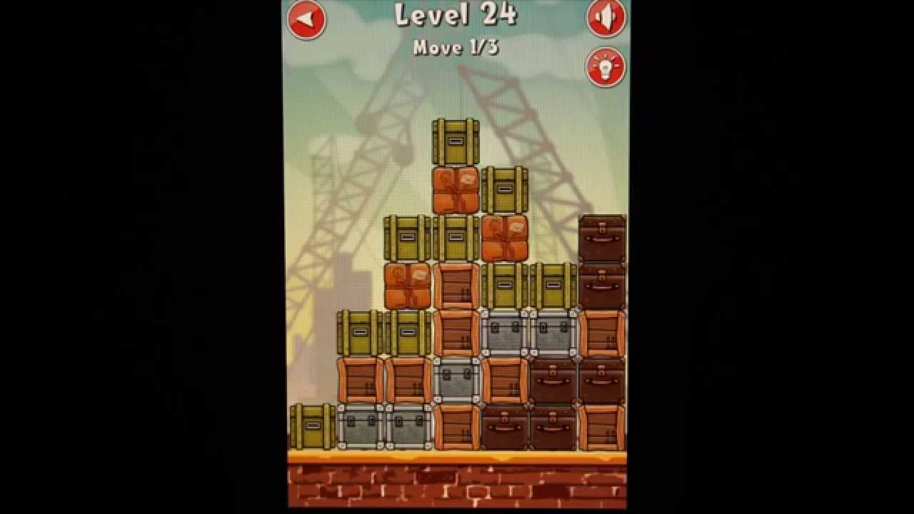 Move The Box Boston Level 24 Solution Answer Game Guides and