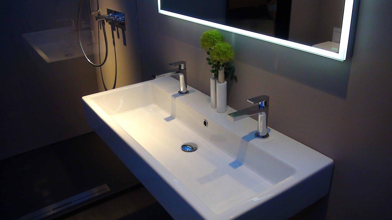 sanikal badeinrichtung: quattro waschtisch extraglaze + solotu, Hause ideen