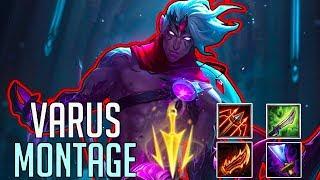 Varus Montage 3 - Best Varus Plays | League Of Legens Mid