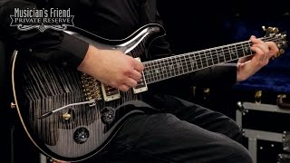 Download PRS 58/15 Electric Guitar Limited Figured Maple Top, Dark Special Red Abalone Inlays MP3 song and Music Video
