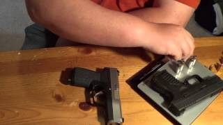 springfield xds vs kahr cw9 weight comparison
