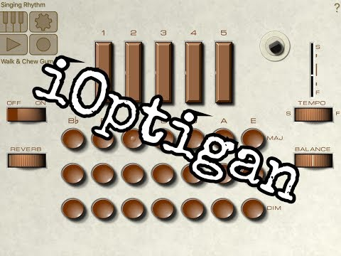 iOptigan - The BIG Soundtest and Tutorial for the iPad - Ultra Retro Goodness