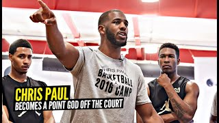 Chris Paul Opens Up About Kobe Bryant & Becomes a Point God Off The Court!