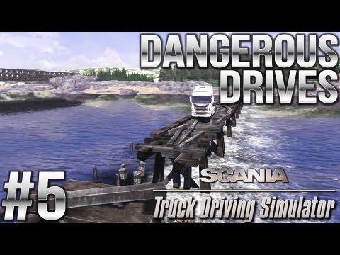 Dangerous Drives #5 (Collapsed Bridge, Backstreet, High in the Sky, Fertilizer, Roadworks)