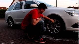 Wheel Seal Test - Zweite Reinigung