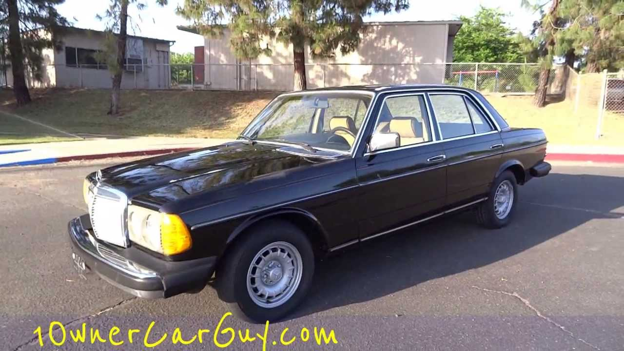 mercedes benz 300d w123 diesel sedan bio non turbo for sale 240d youngtimer video review youtube. Black Bedroom Furniture Sets. Home Design Ideas